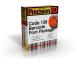 PrecisionID Code 128 Barcode Fonts 2012 full screenshot