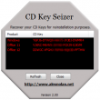 CD Key Seizer 2.01 full screenshot