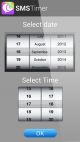 MobiMonster SMS Timer for Android 2.0 full screenshot
