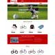 Magento SportsShop Responsive Theme Magento 1.8 full screenshot
