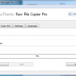 Fast Raw File Copier Pro 1.5 full screenshot