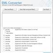 Converting EML emails to PST 8.0 full screenshot