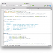 CotEditor for Mac OS X 3.9.7 full screenshot