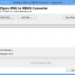MSG to MBOX Converter 1.7.1 full screenshot