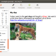 RedNotebook for Mac OS X 2.6.1 full screenshot