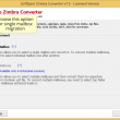 Migration of Zimbra TGZ files to PST 8.4.2 full screenshot