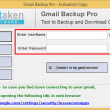 Softaken Gmail Backup 1.0 full screenshot