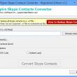 Software4help Skype Contacts Converter 1.6 full screenshot