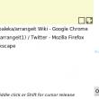 arrangeit 0.3alpha full screenshot
