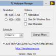 TZ Wallpaper Manager 1.1 full screenshot