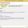 Transfer Zimbra to Outlook 8.3.8 full screenshot