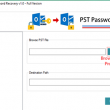 A2Z Migrations for PST Password Recovery 1.0 full screenshot