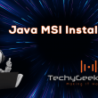 MSI Installers for Java 8.251 full screenshot