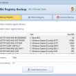 Mz Registry Backup 2.1.0 full screenshot