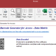 Data Matrix Native Access Barcode 16.05 full screenshot