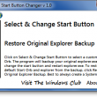 Windows 7 Start Button Changer 2.6 full screenshot