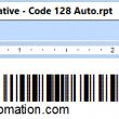 Crystal Reports Code 128 Barcode 17.04 full screenshot