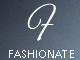 Fashionate - Minimal Business, Portfolio, Photography WordPress Theme 1 full screenshot