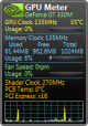 GPU Meter 2.4 full screenshot
