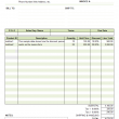 Sales Invoice Template with Discount Percentage 1.20 full screenshot