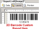 2D Barcode Custom Report Item 11.10 full screenshot