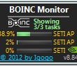 BOINC Monitor 9.83 full screenshot