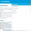 My Bookmarks using C# and MVC 1.0 full screenshot