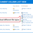 Link to Document Column 2.05 full screenshot