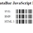 GS1 DataBar JavaScript Generator 18.03 full screenshot