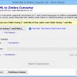 Convert email to Zimbra 3.3.3 full screenshot
