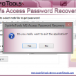 SysInfoTools MDB Password Recovery 1.0 full screenshot