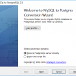 MySQL-to-PostgreSQL 2.1 full screenshot