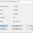 Repair Tool for Adobe Flash Player 3.0 full screenshot