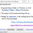 Batch Convert Xlsx to Csv Software 20.08.12 full screenshot