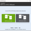 NTFS to FAT32 Wizard 2.4 full screenshot