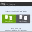 NTFS to FAT32 Wizard 2.4 full screenshot
