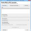 Convert Outlook Messages to PDF 8.0.1 full screenshot