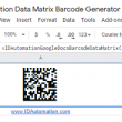 Sheets Data Matrix Script for Google 21.06 full screenshot