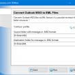 Convert Outlook MSG to EML Files 4.11 full screenshot