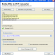Convert Multiple EML to PDF 7.0 full screenshot