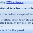 TAdvPanel & AdvPanelGroup 2.3.0.8 full screenshot