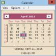 HS Calendar 2.70 full screenshot