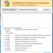 Eudora Mail to EML Converter 3.0.4 full screenshot