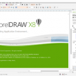 CorelDRAW X8 18.0.0.450 full screenshot