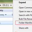Folder Manifest 1.0.5 full screenshot