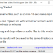 Easiest Free Video End Cropper 19.12.10 full screenshot