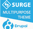 Surge Multipurpose Responsive Drupal 8 Theme 1 full screenshot