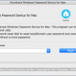 Windows Password Genius for Mac 2.1.20 full screenshot