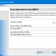 Save Attachments from MBOX for Outlook 4.17 full screenshot
