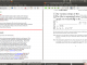 TeXworks for Linux 0.4.3 r858 full screenshot